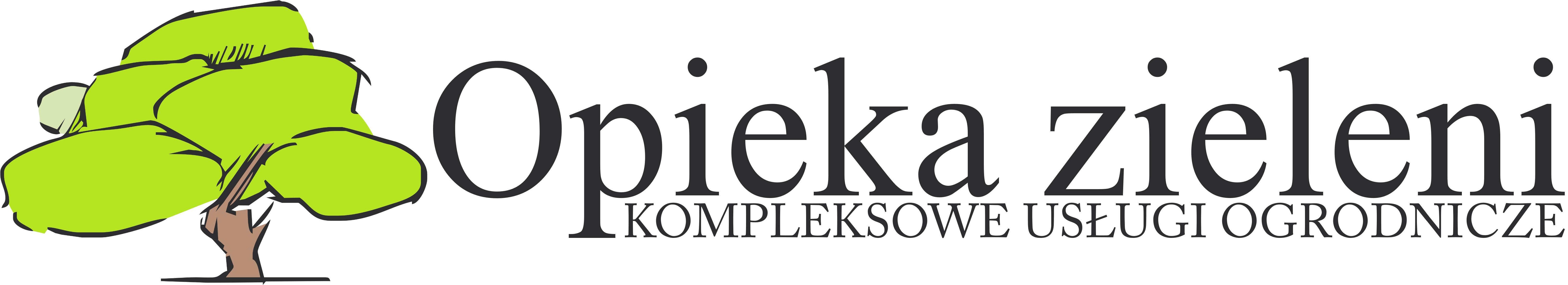 Logotyp - opieka zieleni